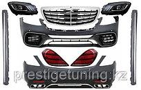 Комплект рестайлинг обвеса Mercedes-Benz W222 S63 AMG 2018-