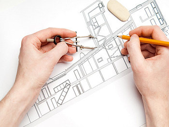 Эскизный проект встроенного помещения