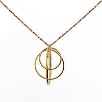 Колье Brosh Jewellery. Итальянская сталь. Цвет; золото.