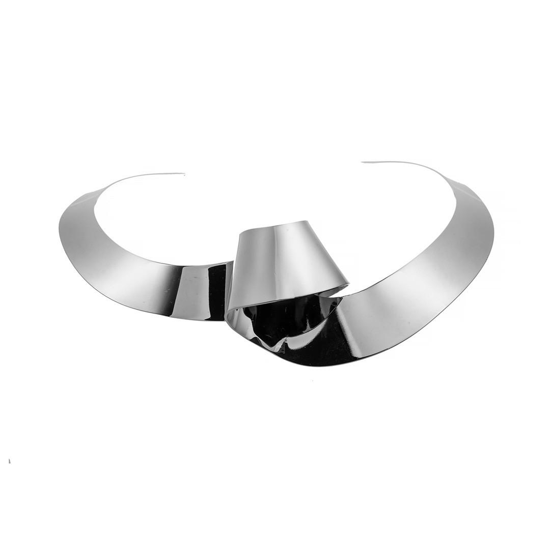 Колье  Brosh Jewellery. Итальянская сталь. Цвет ; серебро