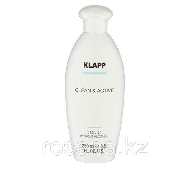 Тоник без спирта (алкоголя) / CLEAN & ACTIVE