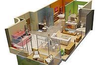 Рабочий архитектурный проект интерьера