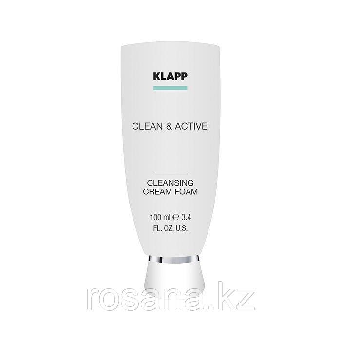 Очищающая крем-пенка / CLEAN & ACTIVE