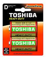 Цинковые батарейки Toshiba HEAVY DUTY R20KG BP-2TGTE SS D