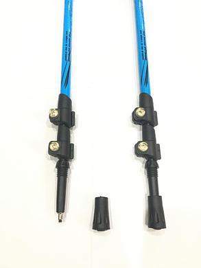 Палки для скандинавской ходьбы с неопреновой ручкой. (длина 135 см), фото 2
