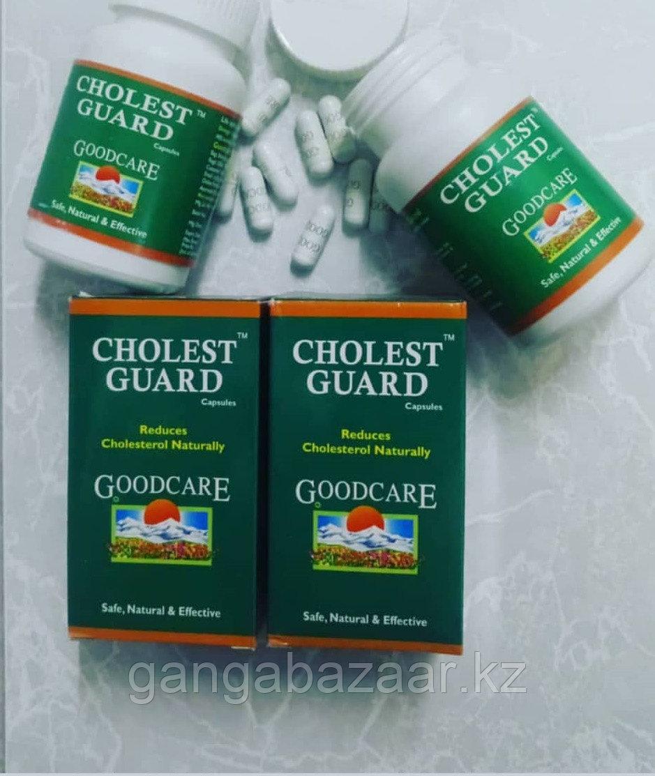 Холест Гард (Cholest Guard GoodCare) - снижение уровня холестерина, защита сосудов и сердца, 60 кап