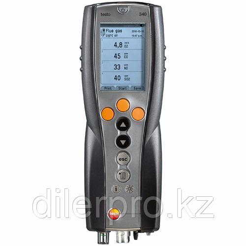 Комплект Testo 340 (O2, CO, NO, NO2)