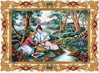 """Набор для вышивания крестом """"На лужайке"""""""