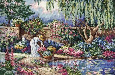 """Набор для вышивания крестом """"Любимый сад"""""""