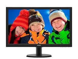 "Монитор PHILIPS 243V5LHSB/01, 23.6"" FHD 60 Hz/ TN/ 5ms"