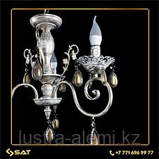 Люстра Классика  4804/3 BRIGHT WHITE GOLD, фото 3