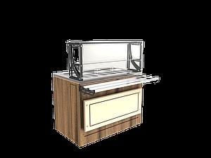Прилавок холодильный LPC Steel 1105 h=20 мм