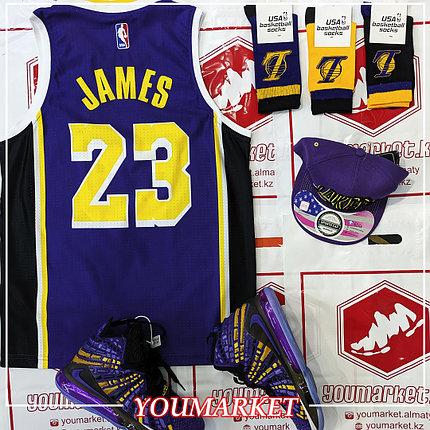 Баскетбольная майка (Джерси) Lebron James Lakers, фото 2