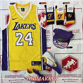 Баскетбольная майка ( Джерси) Lakers игрок Ко́би Бра́йант (Kobe Bryant)