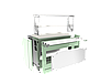 Прилавок холодильный LPC Steel 805 h=100 мм (на 2 GN1/1), фото 2