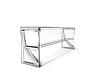Прилавок холодильный LPC Steel 805 h=100 мм (на 2 GN1/1), фото 3