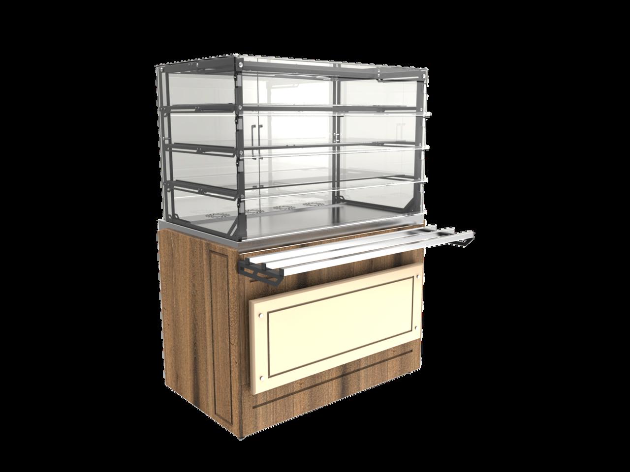 Витрина холодильная LVC Steel 1505