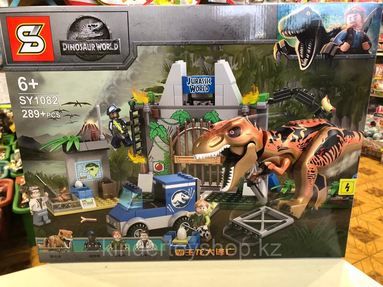 "Конструктор Bela 10920 ""Побег Ти-Рекса"" 298 деталей (Аналог Lego Jurassic World 10758)"
