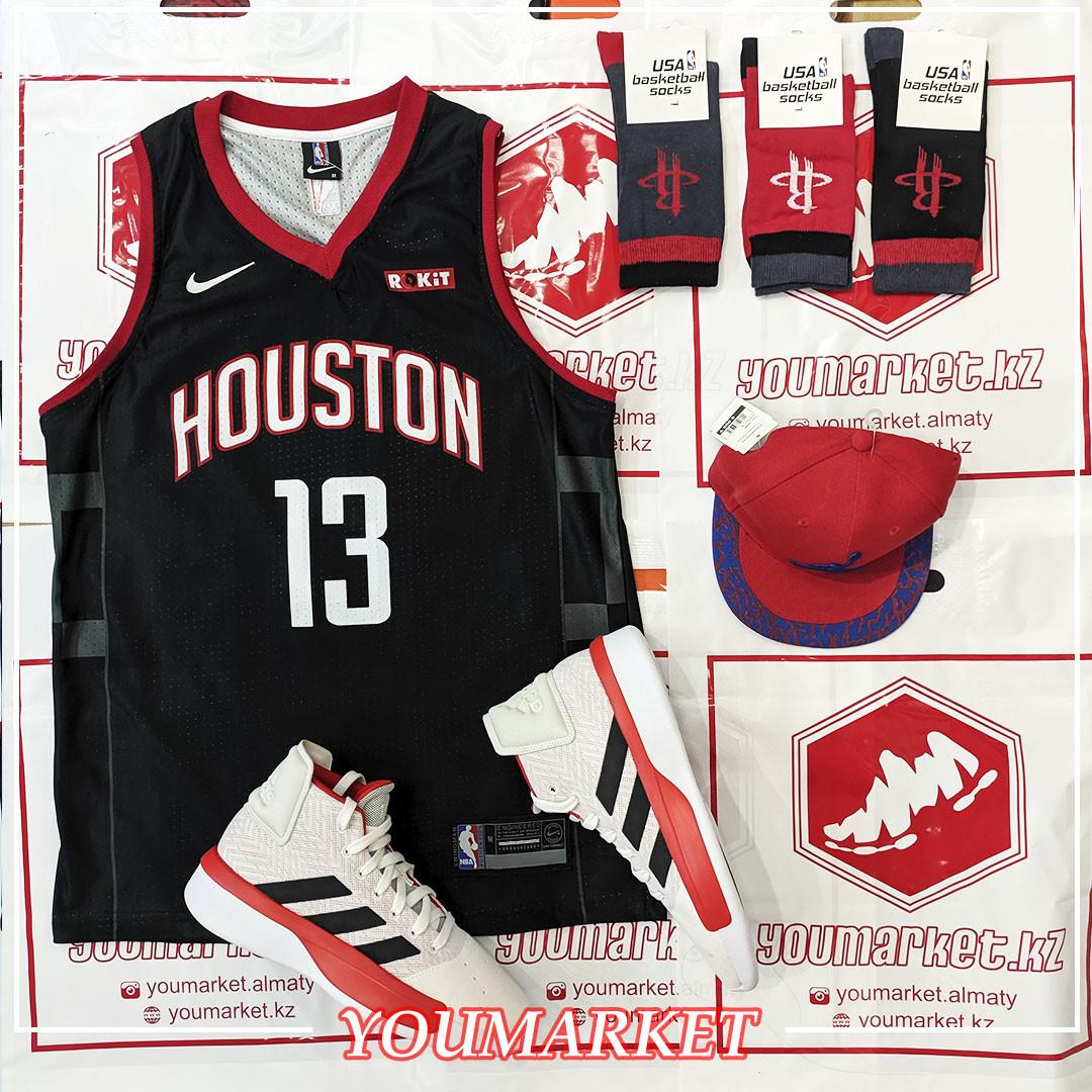 Баскетбольная майка ( Джерси)  Houston Rockets  Джеймс Харден