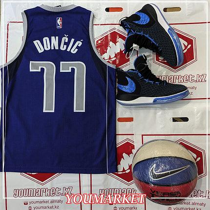 Баскетбольная Майка ( Джерси ) Dallas Mavericks Лу́ка До́нчич Luka Dončić, фото 2