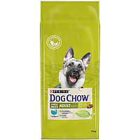 Сухой корм Дог Чау для собак крупных пород с индейкой