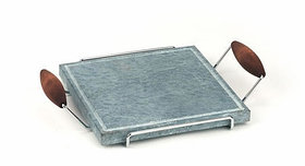 Каменный гриль Hot Stone Grill Bisetti 99002 сковорода для жарки мяса стейков овощей рыбы креветки