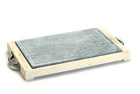 Камень гриль Bisetti Linea Vintage 99274B сковорода для жарки мяса стейков овощей креветки рыбы