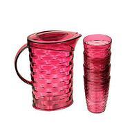 Набор для напитков Bager [5 предметов] (Розовый)