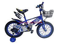 Велосипед Phillips синий оригинал детский с холостым ходом 16 размер