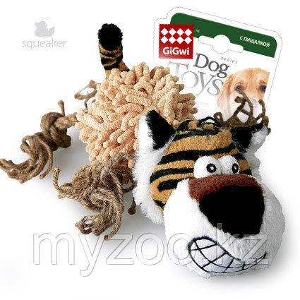 GigWi, ГигВи  Тигр с пищалкой. ,36см