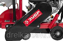 Швонарезчик бензиновый ЗУБР ЗШБ-350 Х, рез 115мм, диск 300 - 350 (25.4)мм, бак для воды, двигатель Honda GX160, фото 3