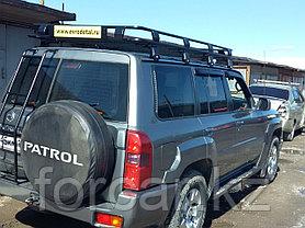 Корзина экспедиционная  для Nissan Patrol Y60/Y61 235х130 см с сеткой, фото 2