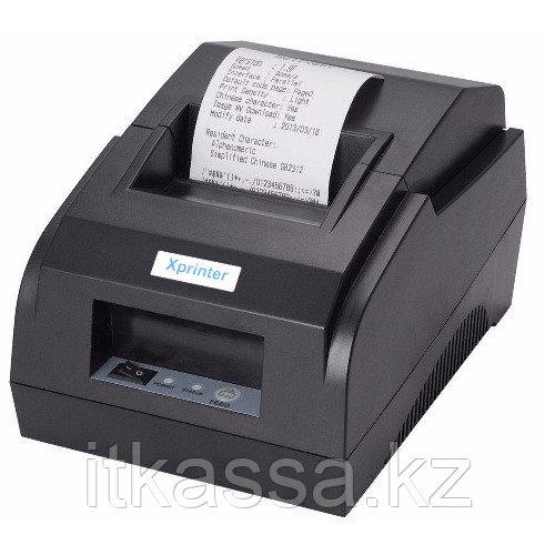 Принтер чеков Xprinter XP58 IIL USB + Bluetooth подходит для мобильных касс