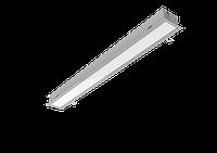 """Светодиодный светильник G-ЛАЙН """"ВАРТОН"""" 1170х100х80мм 36 ВТ 3000К металлик"""