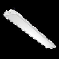 """Светодиодный светильник """"ВАРТОН"""" Supermarket 35 Вт 3000К 1500*145*50мм IP40 аварийный автономный постоянного действия белый"""