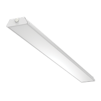 """Светодиодный светильник """"ВАРТОН"""" Supermarket 35 Вт 5000К 1500*145*50мм IP40 диммируемый по протоколу DALI белый"""