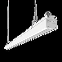 "Светодиодный светильник ""ВАРТОН"" Mercury Mall IP54 740x54x58 мм линза 89°x115 20W 4000К белый RAL9003"