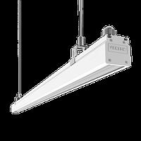 "Светодиодный светильник ""ВАРТОН"" Mercury Mall IP54 1450x54x58 мм опал 76W 4000К белый RAL9003"