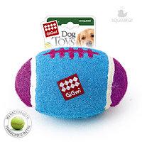GigWi, ГигВи Игрушка для собак Большой регби - мяч с пищалкой 18см