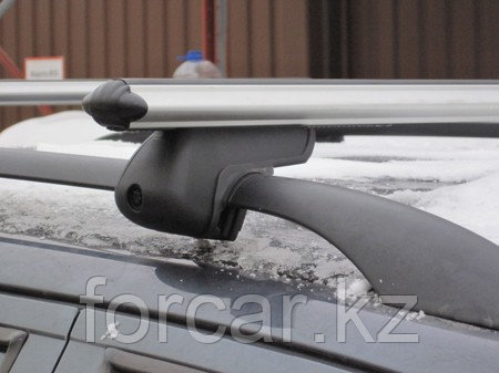 Комплект поперечин Atlant (Россия) на рейлинги, аэродинамические дуги, фото 2