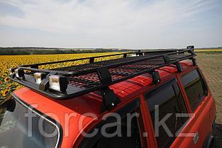 Корзина экспедиционная  для Toyota Land Cruiser 80 235х130 см с сеткой, фото 2