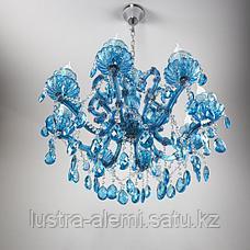 Люстра Классика 104/8 SIL+BLUE, фото 2
