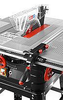 Пила циркулярная настольная ЗУБР ЗПДС-255-1600С, станина, 4500 об/мин, 1600 Вт., фото 2