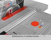 Пила циркулярная настольная ЗУБР ЗПДС-255-1600С, станина, 4500 об/мин, 1600 Вт., фото 3