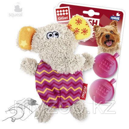 GigWi, ГигВи Игрушка для собак Слон с пищалкой 13см