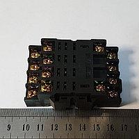 Колодка реле на DIN-рейку 4 группы контактов PTF14A