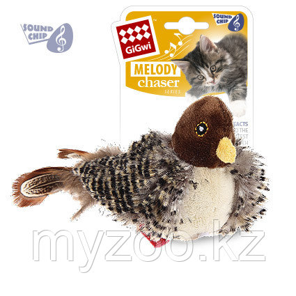 GigWi, ГигВи Птичка со звуковым чипом .13 см