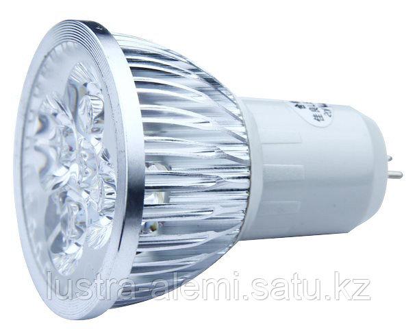 Лампа МР16 4вт 6000K 220V