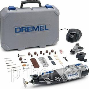 Многофункциональный аккумуляторный инструмент DREMEL 8220-2/45  в комплекте с насадками