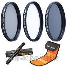 K&F Набор фильтров 72 мм (UV, CPL, ND4)  SKU0013
